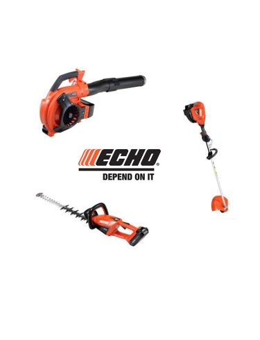Diverse Echo 50 volt machines
